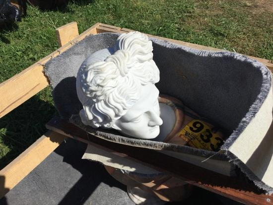 Marble Lady Head Statue R1