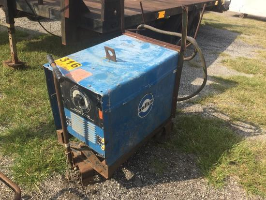 MILLER DIAL ARC 250 AC/DC CONSTANT CURRENT ARC WELDING POWER SOURCE R1