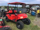 2003 RUFF & TUFF ELECTRIC GOLF CART (STREET LEGAL, 48 VOLT, BATTERIES 6 MONTHS OLD, CUSTOMIZED, LIFT