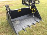 4n1 SKID STEER BUCKET ATTACHMENT (66in) R1
