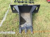 SKID STEER STUMP BUCKET ATTACHMENT (UNUSED) R1