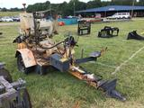 4cyl STUMP GRINDER (BEEN SITTING FOR 2 YEARS- RUNNING WHEN PARKED) R1