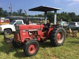 INTERNATIONAL 484 TRACTOR (DIESEL, NEW TIRES, NEW PARK BRAKE, NEW STEERING CYLINDER,