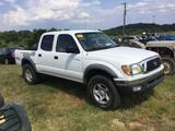 2002 TOYOTA TACOMA SR5 PRE RUNNER (AT, V6, MILES READ-354768 EXEMPT, VIN-5TEGM92N22Z059201) R1