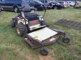 GRASSHOPPER 618 ZERO TURN MOWER (KOHLER 18hp MOTOR, 52in DECK, **RUNS BUT WON'T STAY RUNNING LONG**)
