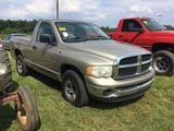2005 DODGE RAM 1500 (AT, 4.7L, MILES READ-189272, VIN-1D7HA16N55J512692) R1