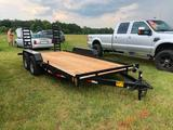 2018 GATORMADE EQUIPMENT TRAILER (16FT X 82IN, T/A 6 LUG, 5 TON, VIN-4Z1HB1628JS041281) R1