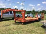 HORTON HAULER EQUIPMENT TRAILER (24FT X 82IN, GOOSENECK, 7 TON) R1