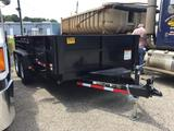 2019 CARRY-ON 7X14 DUMP TRAILER (7 TON, TWIN CYLINDER, RAMPS, DUAL GATE, VIN-4YMBD1428KG069718) R1