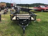 2019 CARRY-ON 5.5X10 SINGLE AXLE TRAILER (WARPED/BENT, VIN-4YMBU1012KG056816) R1