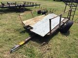4X8FT UTILITY TRAILER **NO TITLE** R1