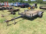 5X10FT UTILITY TRAILER **NO TITLE** R1
