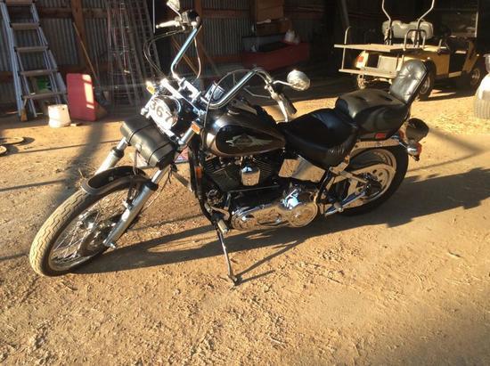 1997 HARLEY DAVIDSON SOFTTAIL CUSTOM MOTORCYCLE