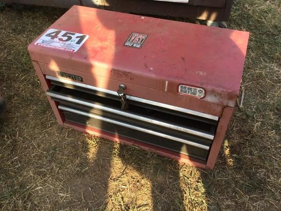 5 DRAWER TOOLBOX & CONTENTS