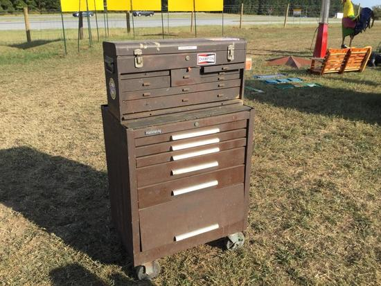 KENNEDY 13 DRAWER TOOLBOX & CONTENTS