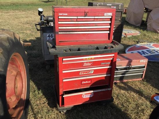 CRAFTSMAN 11 DRAWER TOOLBOX & CONTENTS