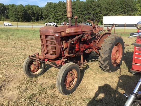 """FARMALL SUPER """"A"""" TRACTOR W/CULTIVATOR"""