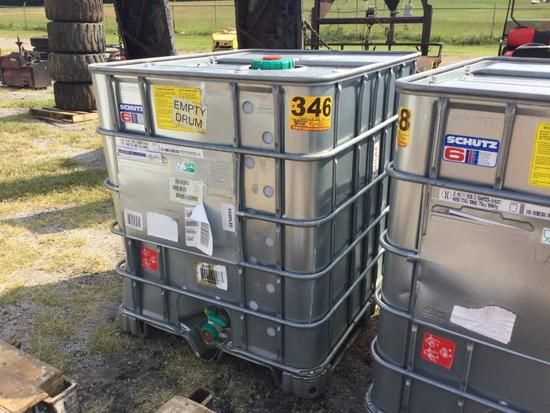 STAINLESS STEEL TOTE (250 GALLON) R2