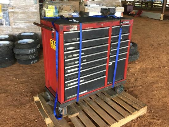 CRAFTSMAN TOOL BOX-LOADED W/TOOLS R2