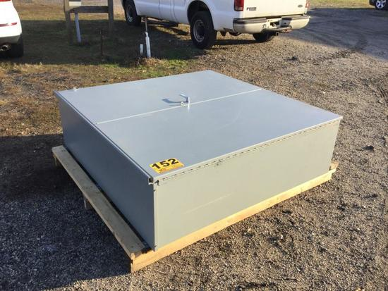 """60"""" X 60"""" ELECTRICAL CABINET"""