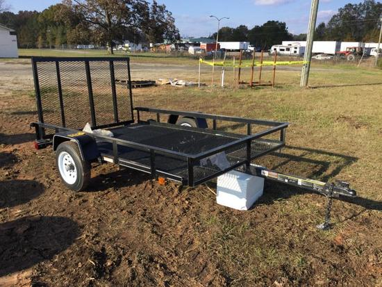 2020 CARRY ON 5X8 SINGLE AXLE TRAILER
