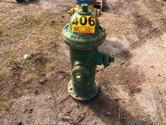 DRY TOP FIRE HYDRANT
