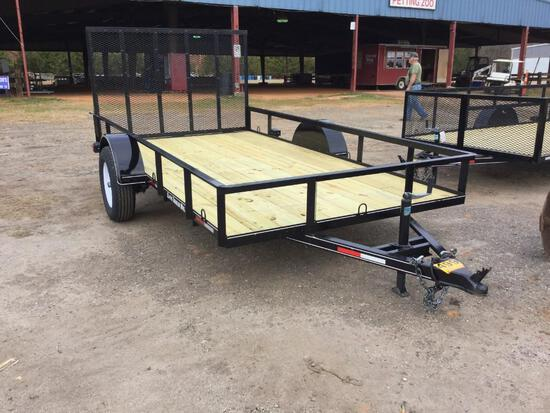 "6'6""X12' CLAYS UTILITY TRAILER"