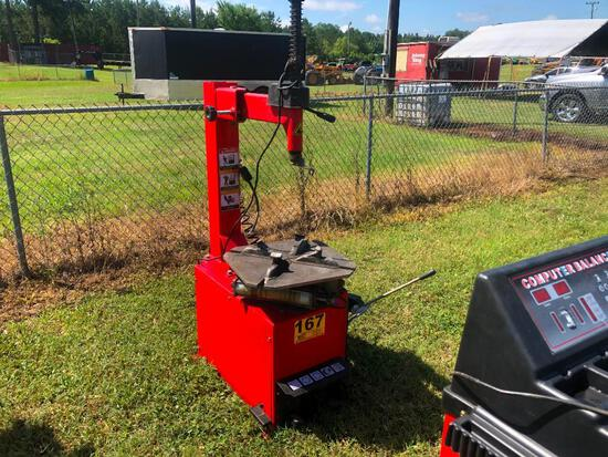 TIRE CHANGER (110V, SINGLE PHASE, 3 YEARS OLD)