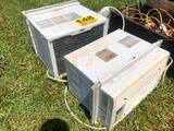 (2) WINDOW AIR CONDITIONERS