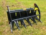 5' ROOT GRAPPLE FOR SKID STEER