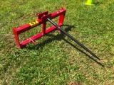 QUICK CONNECT HAY SPEAR FOR SKID STEER **UNUSED**