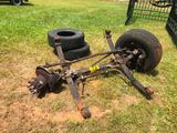 STEER AXLE FOR FORD F450 & TIRES