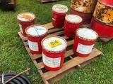 (6) 5 GAL CONTAINERS OF OIL