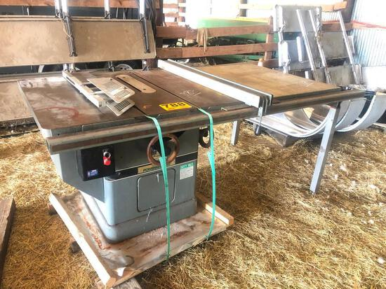 POWERMATIC MODEL 72A TABLE SAW (3PHASE)