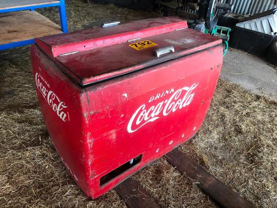 COCA-COLA OPEN TOP DRINK BOX