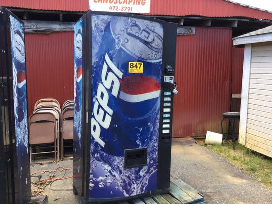 PEPSI COLA DRINK MACHINE
