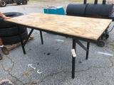 7'X3' WORK TABLE