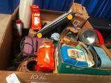 PALLET-BOX W/BRAKE PARTS, FILTERS, RADIATOR