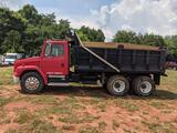 TO BE SOLD OFF-SITE LOCATED IN NEWTON, NC -1999 FREIGHTLINER FL80 DUMP TRUCK (EATON FULLER 8LL
