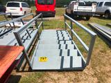 (8) STEP METAL STAIRS