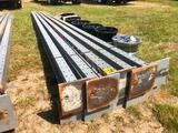 GROUP-(10) METAL UPRIGHTS