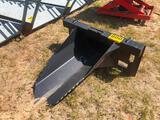 SKID STEER STUMP BUCKET 43