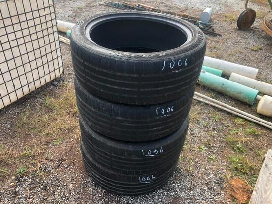 (4) 245/457 R20 TIRES