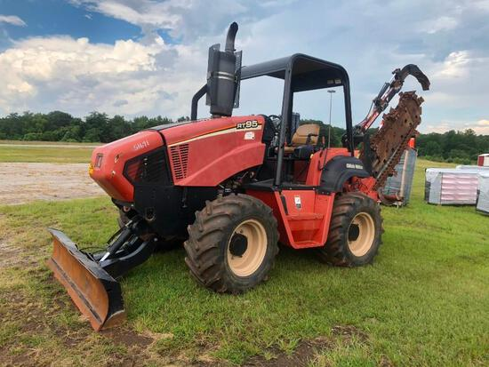 2013 DITCH WITCH RT95 W/M91C TRENCHER **TO BE SOLD