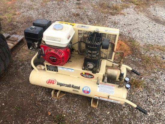 INGERSOLL RAND WHEELBARROW TYPE GAS AIR COMPRESSOR