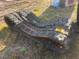 (2) SKID STEER TRACKS