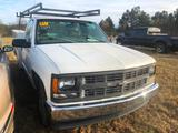 1997 CHEVROLET 2500 PKP TRUCK W/SERVICE BODY