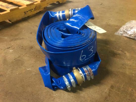 """(2) 50' 2"""" DISCHARGE HOSES**SELLING ABSOLUTE**"""