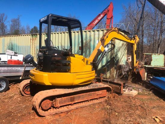 CAT 304 CR MINI EXCAVATOR