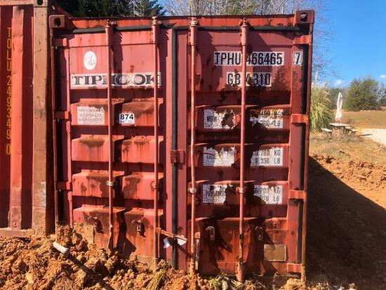 40' SHIPPING / STORAGE CONTAINER